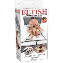 Fetish Fantasy Kit Ataduras para la Cama