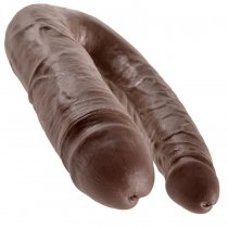 King Cock Dildo Doble Penetración 17.8 cm