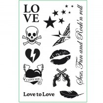 Love To Love Set de Tatuajes