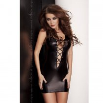 Lyzzy Vestido Negro By Passion