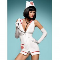 Obsessive Emergency Dress With Stehoscope