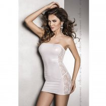 Vena Vestido Blanco Sensual By Passion Woman